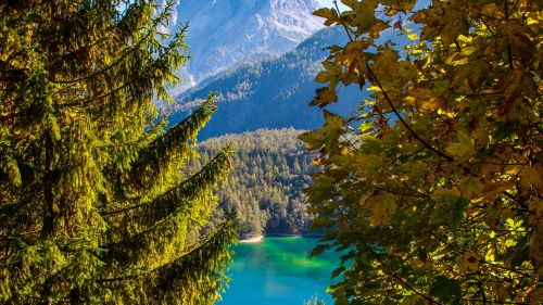 Tyros lake in Austria HD Wallpaper