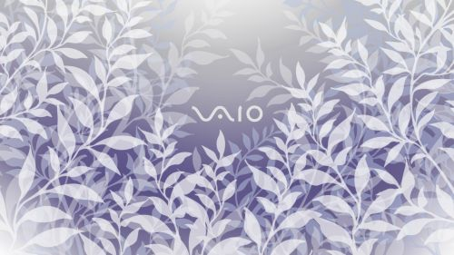 Vaio Leaves HD Wallpaper