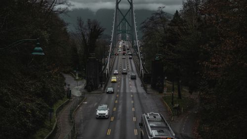 Vancouver bridge HD Wallpaper