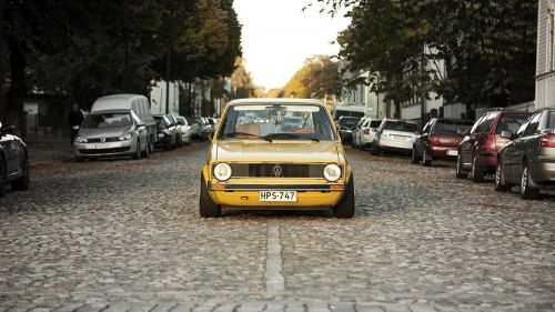 Volkswagen Golf MK1 HD Wallpaper