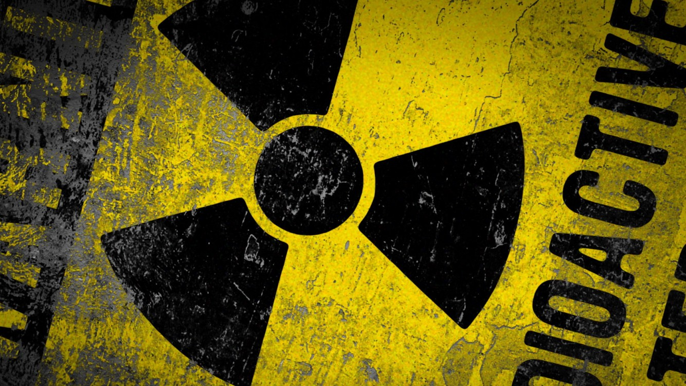 Warning radioactive sign HD Wallpaper available in different dimensions