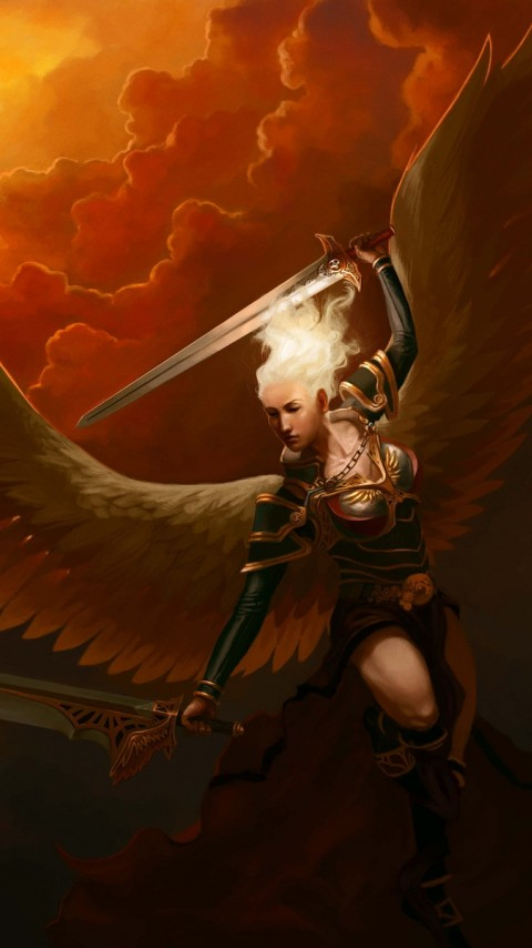 Warrior Angel HD Wallpaper