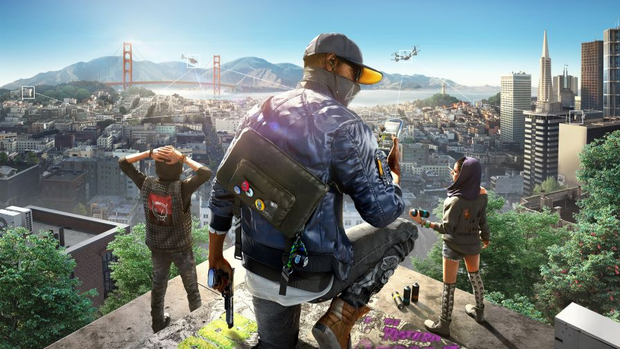 Watch Dogs 2 4K Hd Wallpaper for Desktop and Mobiles