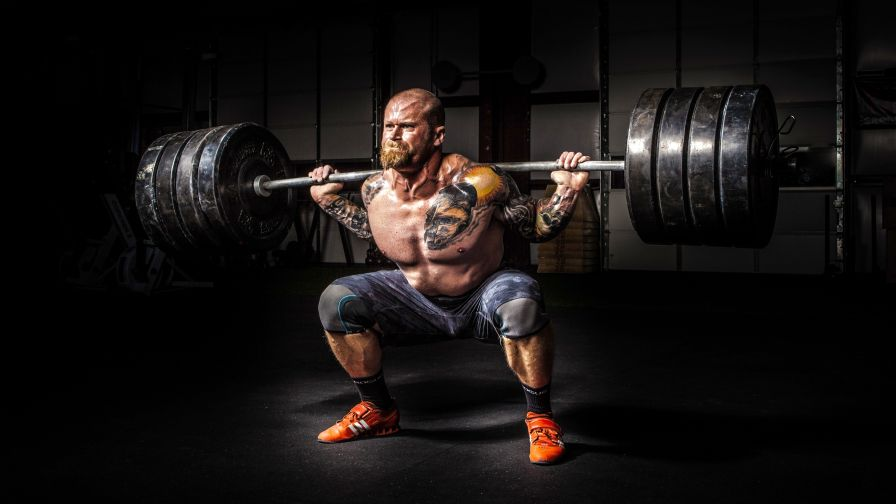 Weight Lifting Hd Wallpaper for Desktop and Mobiles