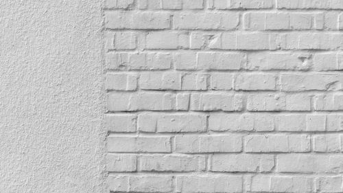 White brick walls HD Wallpaper