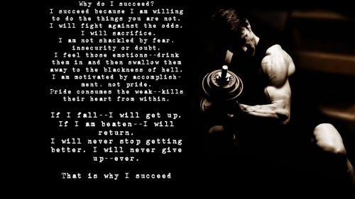 Why do I succeed? HD Wallpaper