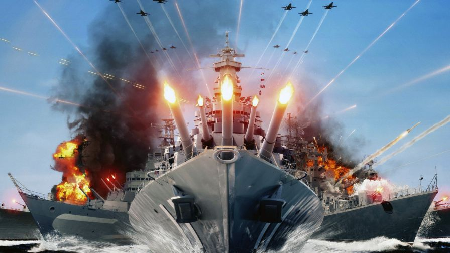 World Of Warships Hd Wallpaper for Desktop and Mobiles