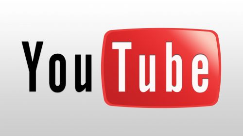 Youtube logo HD Wallpaper