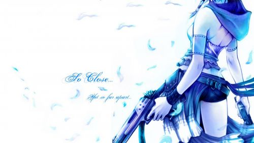 Yuna from Final Fantasy X-2 HD Wallpaper