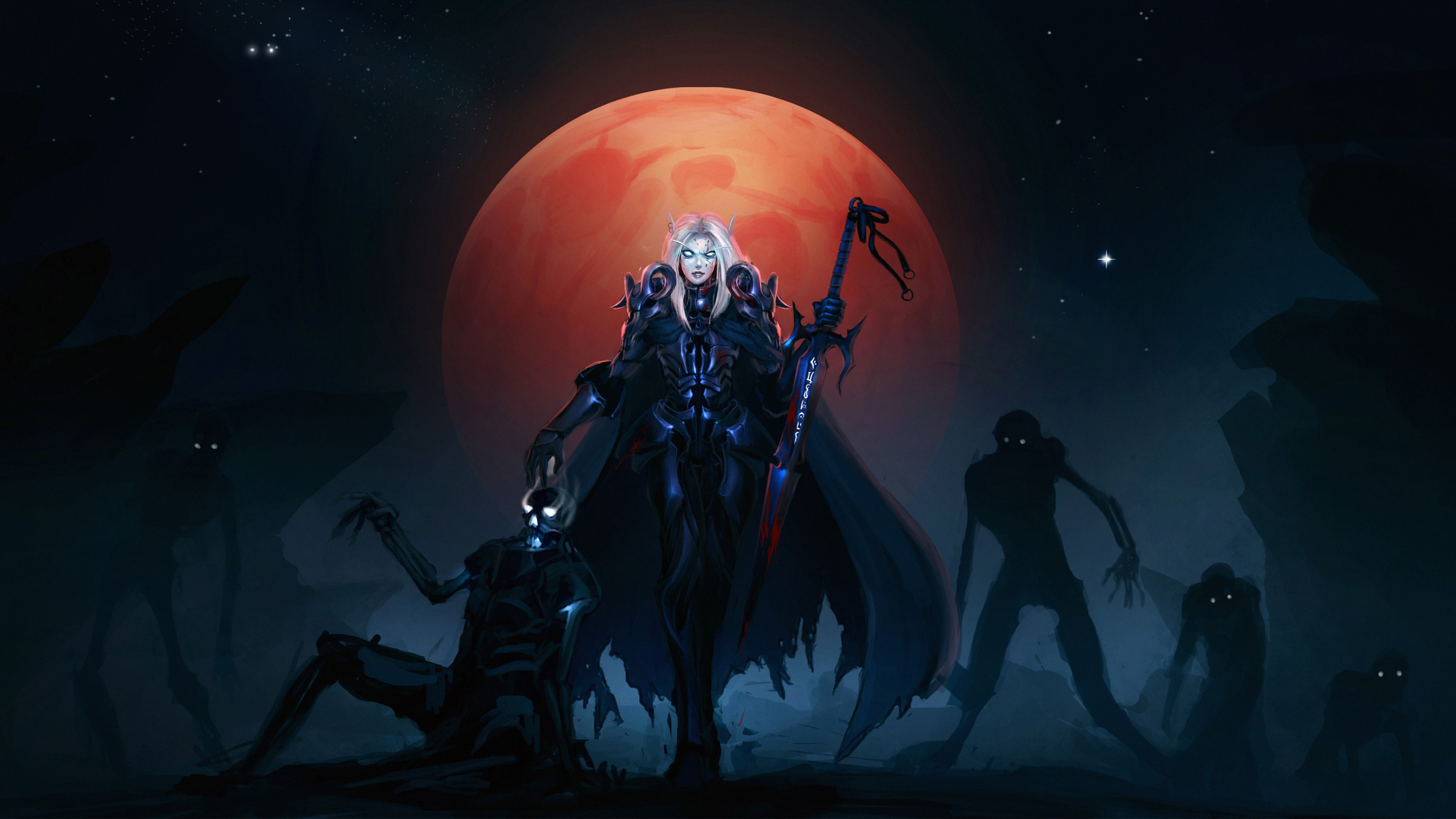 World Of Warcraft Backgrounds Hd Wallpaper For Desktop And Mobiles