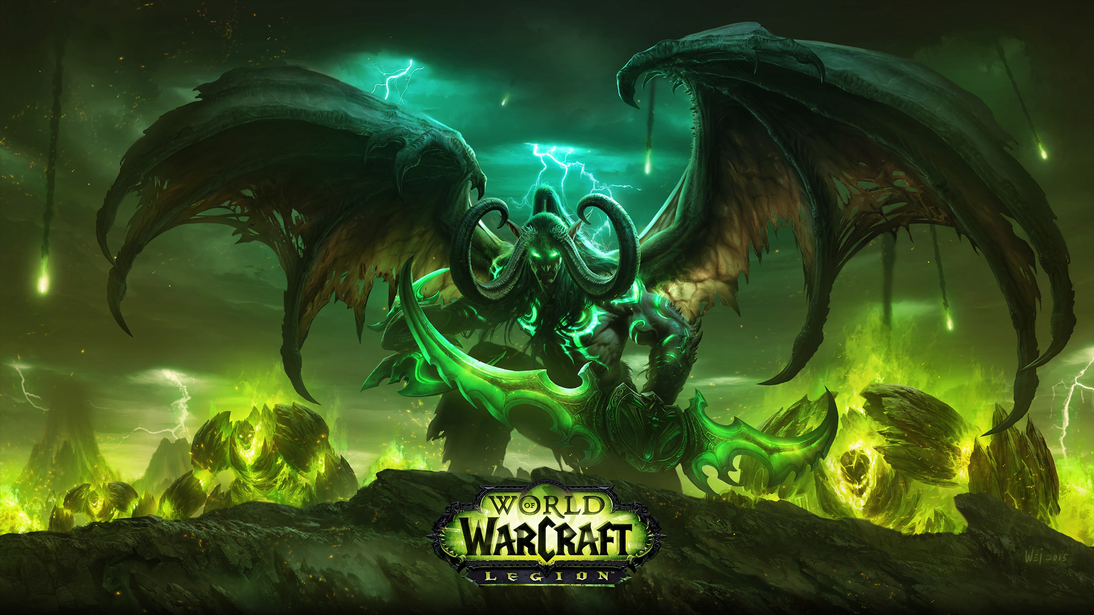 World Of Warcraft Wow Legion Hd Wallpaper for Desktop and