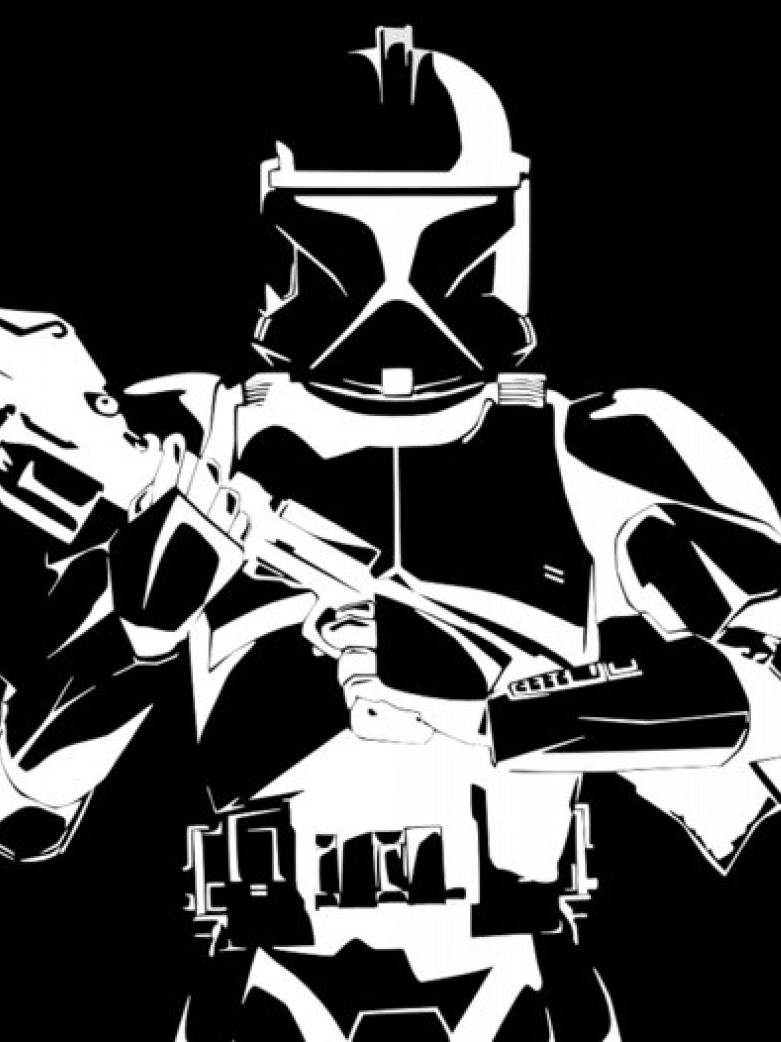 Black And White Star Wars Hd Wallpaper Retina Ipad Hd Wallpaper