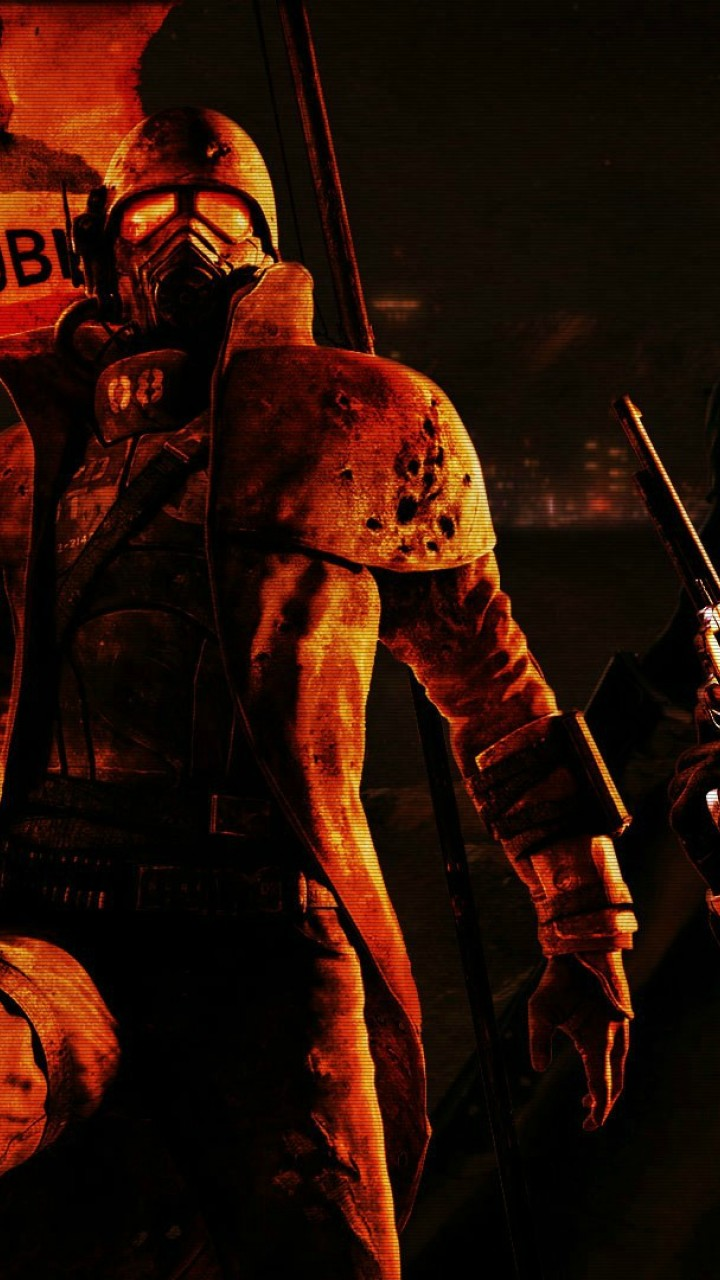 Fallout New Vegas Hd Wallpaper For Desktop And Mobiles 720x1280