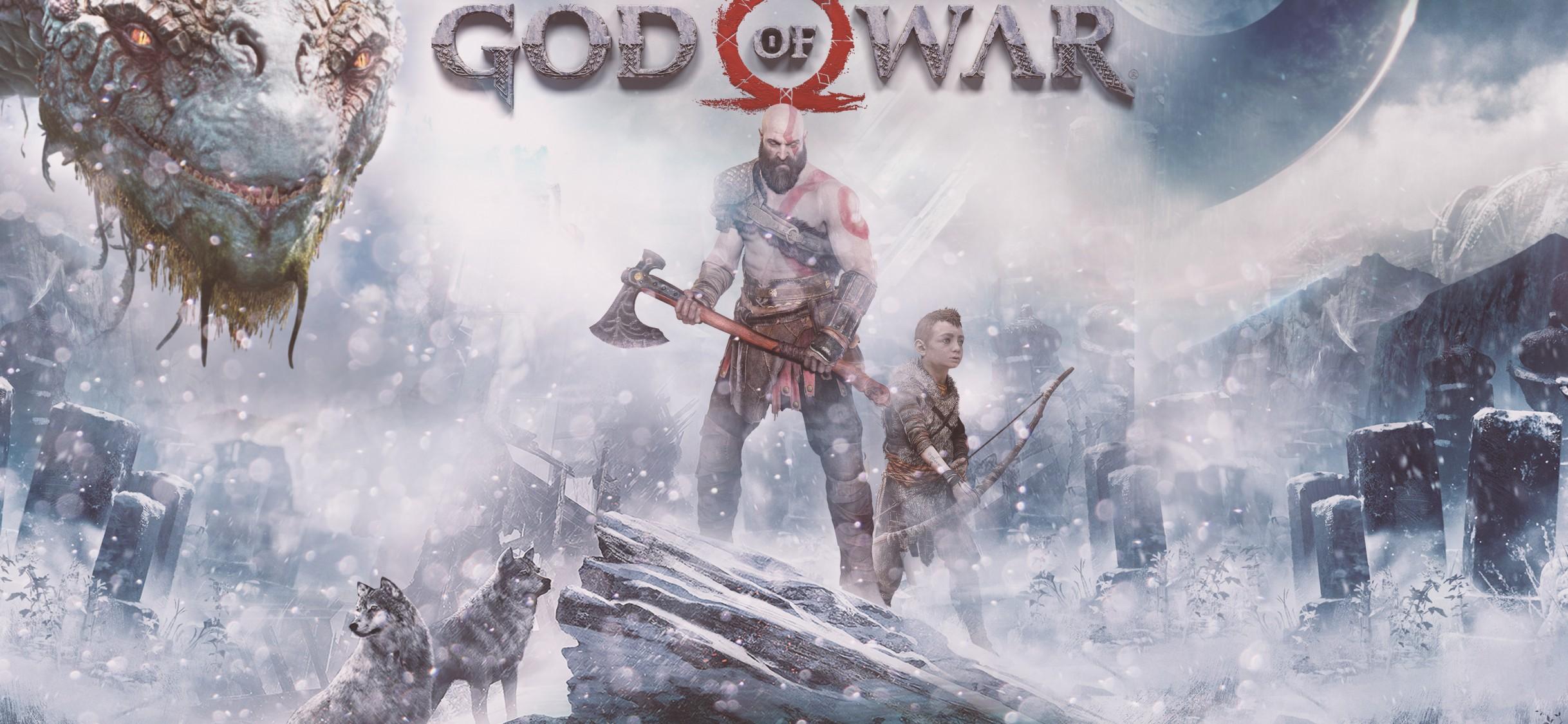 God Of War Ps4 4k Hd Wallpaper Iphone X Hd Wallpaper