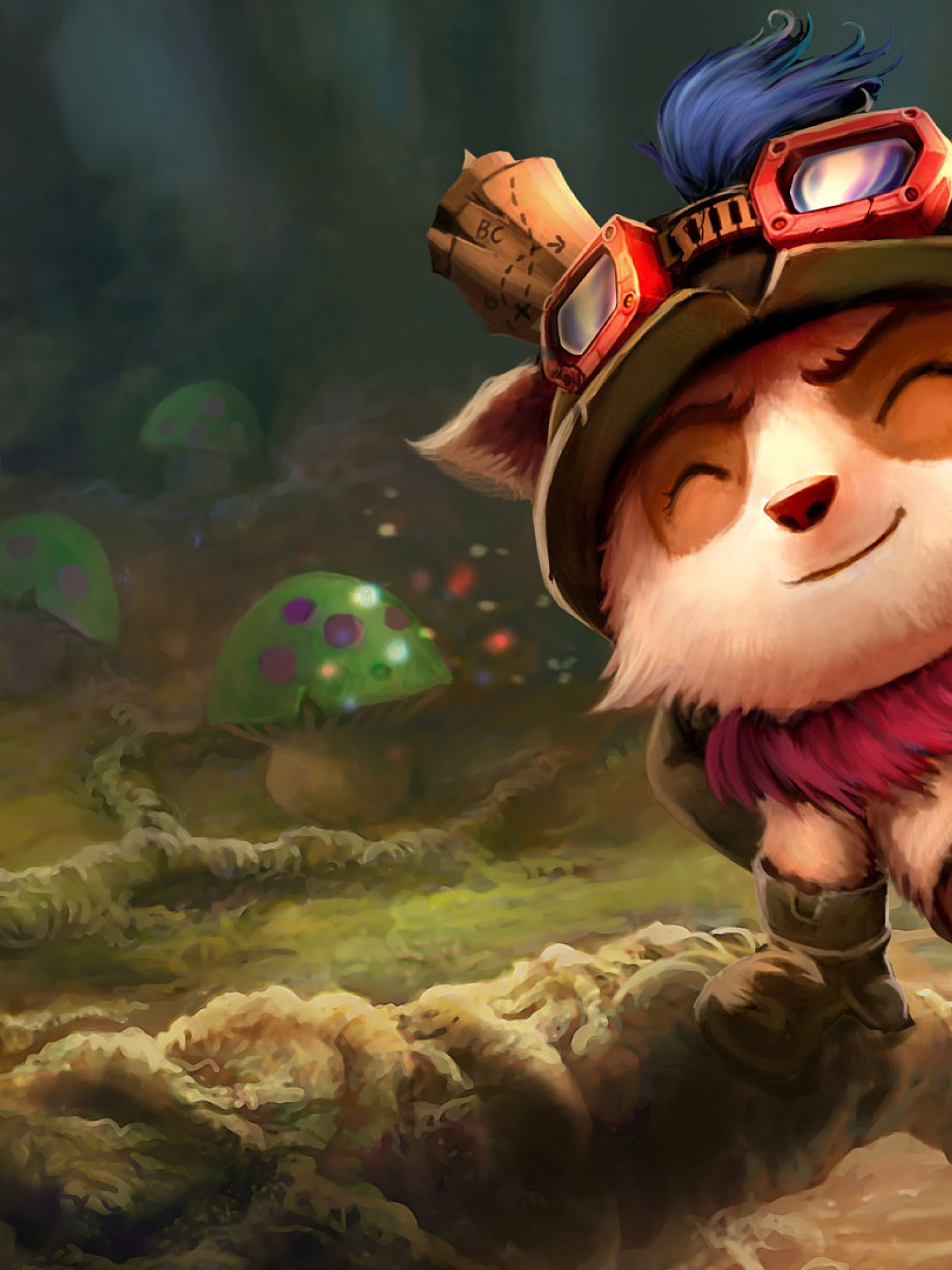 League Of Legends Teemo Hd Wallpaper For Desktop And Mobiles