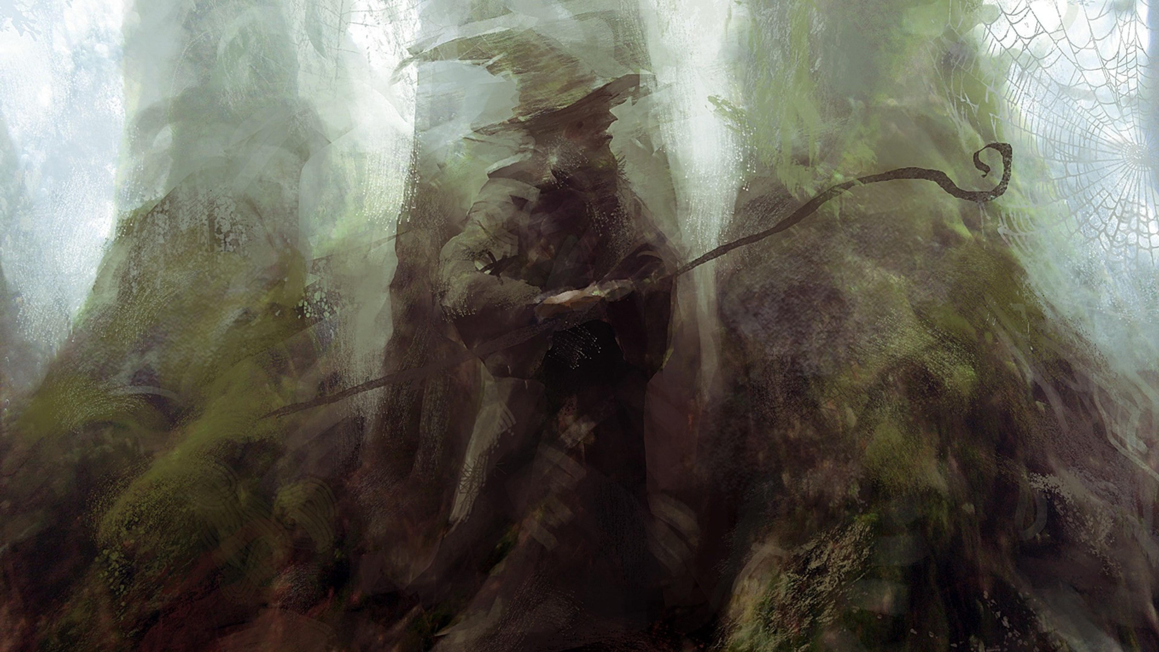 Lord Of The Rings Wizard Magic Hd Wallpaper 4k Ultra Hd Hd