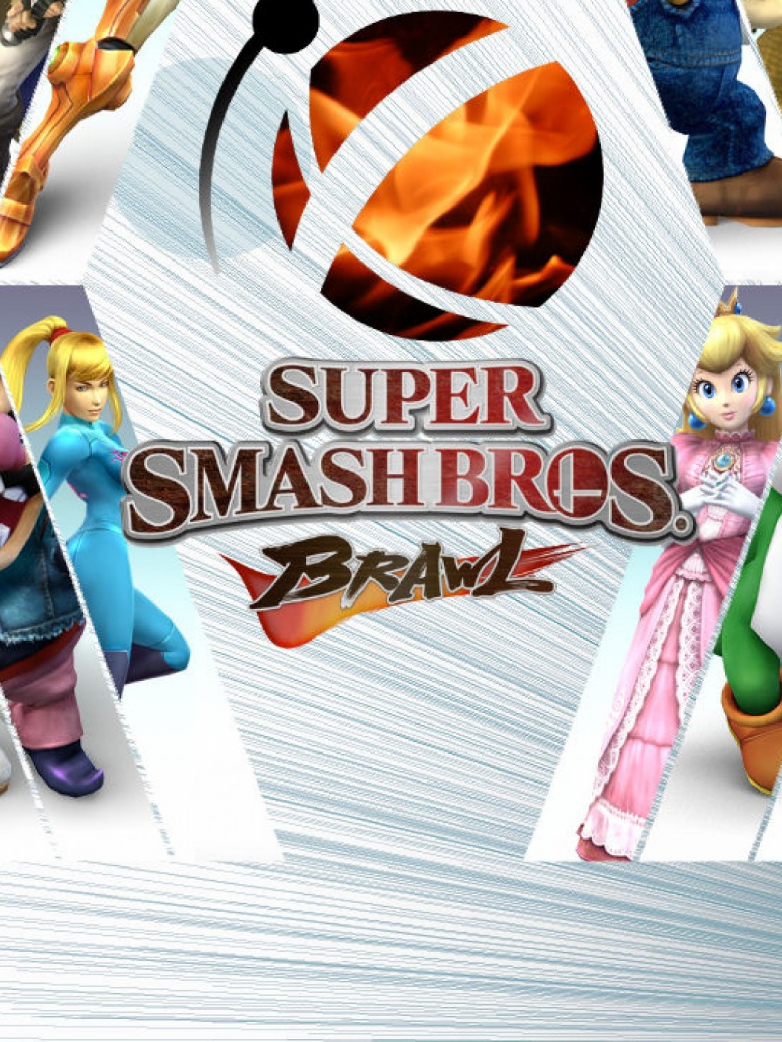 Super Smash Brothers Brawl Hd Wallpaper Retina Ipad Hd Wallpaper
