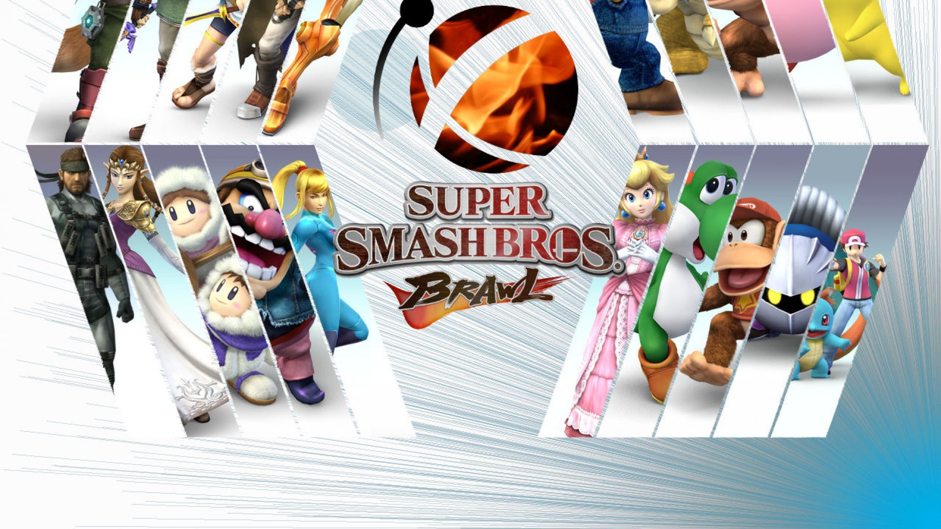 Super Smash Brothers Brawl Hd Wallpaper Iphone 7 Plus Iphone 8