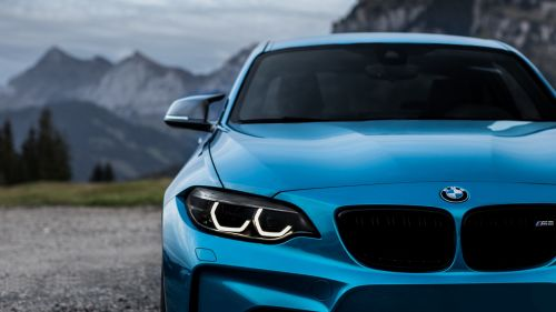 Blue BMW M2 HD Wallpaper