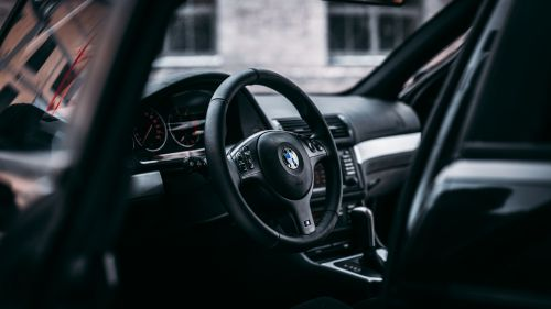 BMW interior HD Wallpaper