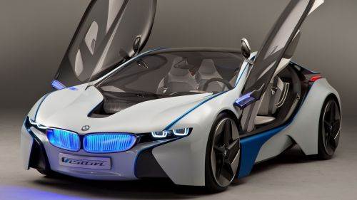 BMW Vision front view HD Wallpaper