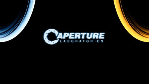 Caperture Laboratories Logo Wallpaper for Desktop and Mobiles