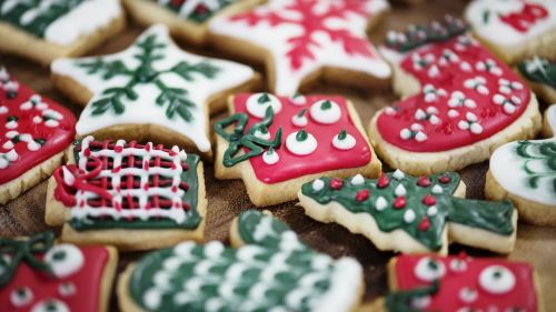 Christmas Cookies HD Wallpaper