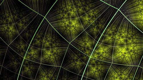 Connections at a green surface HD Wallpaper
