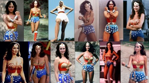 Lynda Carter as Wonder Woman HD Wallpaper