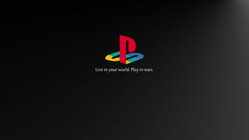 Playstation Logo Hd Wallpaper for Desktop and Mobiles