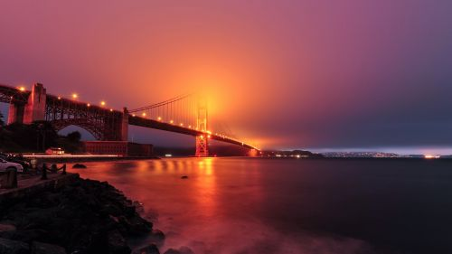 San Francisco bridge HD Wallpaper