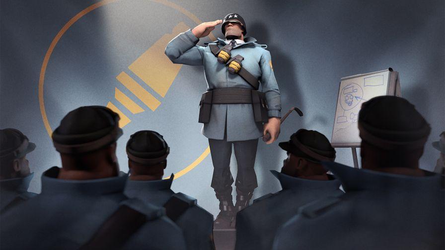 Team Fortress 2 Soldier Hd Wallpaper Wallpapers Net