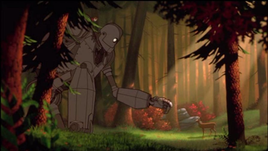 The Iron Giant HD Wallpaper