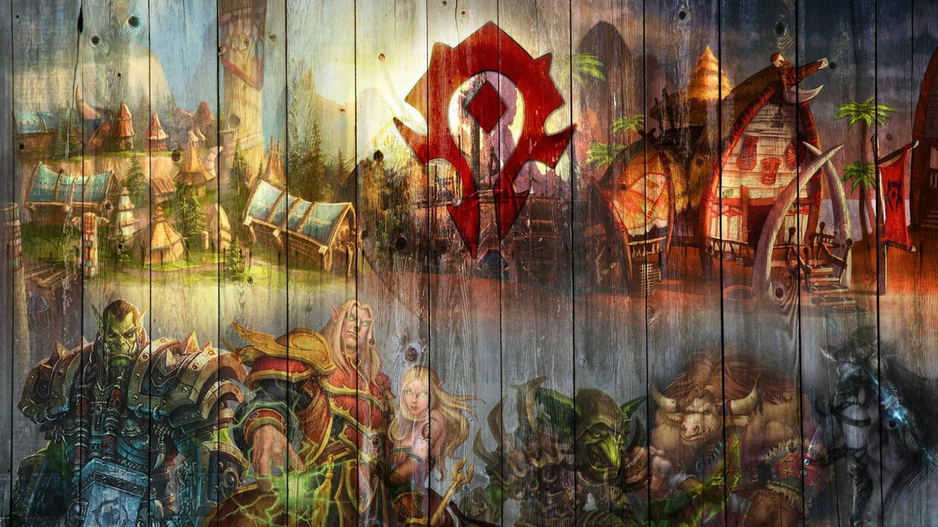 World Of Warcraft Wow Horde Hd Wallpaper For Desktop And Mobiles